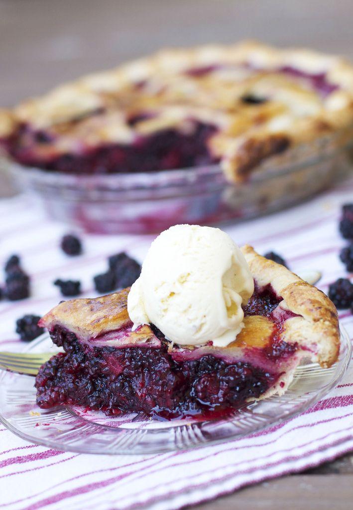 Perfect Blackberry Pie