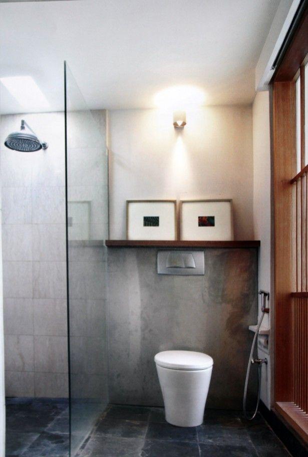 Efficient small bathroom designs modern