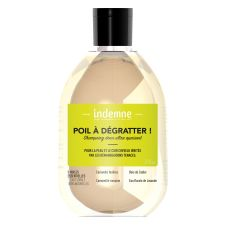 Shampoing Poil à dégratter ! naturel et doux pour calmer et soulager les irritations et anti démangeaison du cuir chevelu. © Indemne