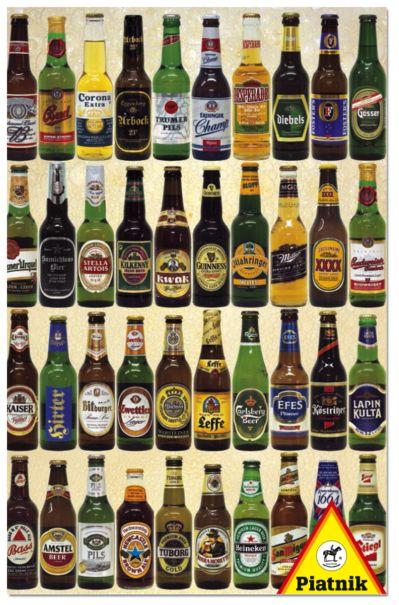 Cerveza. Puzzle de 1000 piezas de Piatnik.