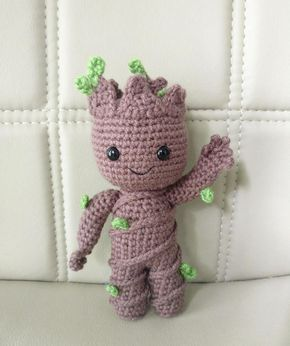 Pattern Baby Groot Vol2 Amigurumi Crochet Pattern Crocheting