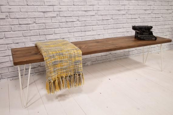 Amazing Rustic Kitchen Dining Bench Industrial Style Bench Vintage Ibusinesslaw Wood Chair Design Ideas Ibusinesslaworg