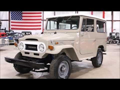 1974 Toyota FJ40 for sale #2030735 - Hemmings Motor News