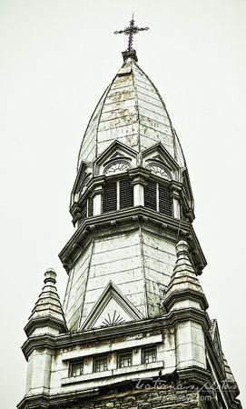 Church tower in Ottawa