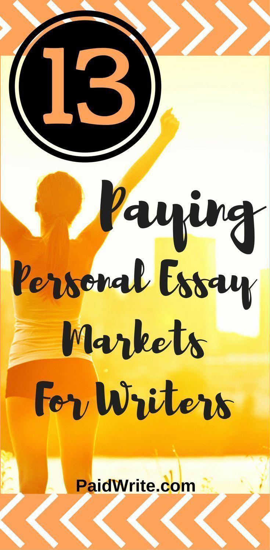 13 PAYING Personal Essay Markets   PaidWrite.com   Pinterest