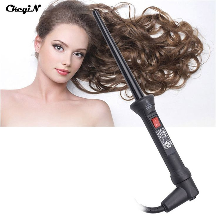 16.56$  Buy now - http://alilja.shopchina.info/1/go.php?t=32600733117 - Hot 110-240V Hair Curlers Portable Hair Curling Wand  Iron Electric Hair Curler Woman Ceramic Cone Hair Stylers Styling Tools 36 16.56$ #buychinaproducts