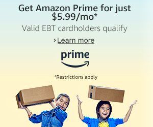 Get Amazon Prime For Just $5.99/mo. Restrictions Apply. #amazonprime #amazon #amazondeals #deals #discounts