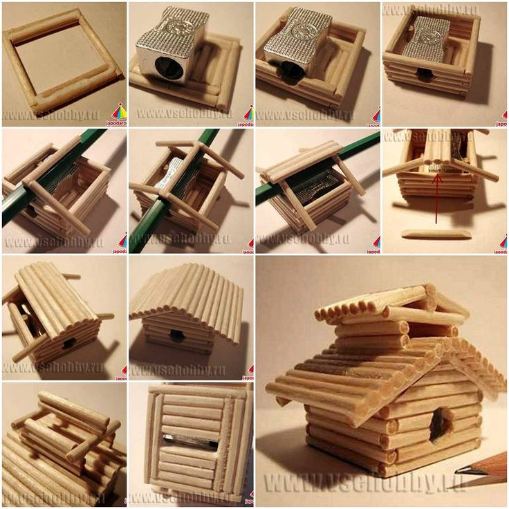 How to make chinese house sharpener step by step diy for Step by step to build a house yourself