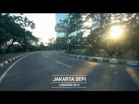 Jakarta Sepi - Lebaran 2015