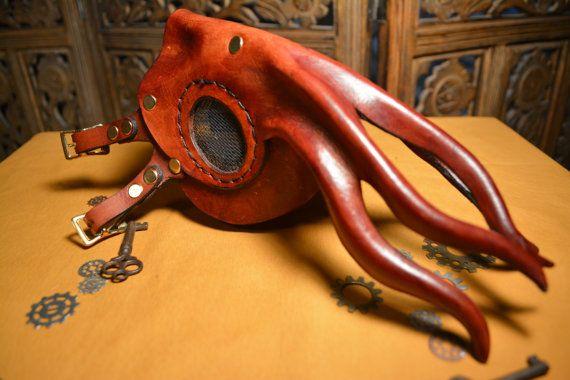 Kraken Respirator $178.00. MXS for the best halloween mask ever...