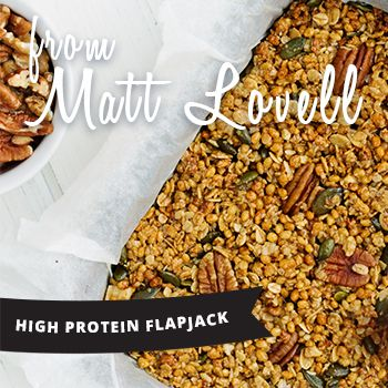 High Protein Flapjack | Lizi's Granola | Blog