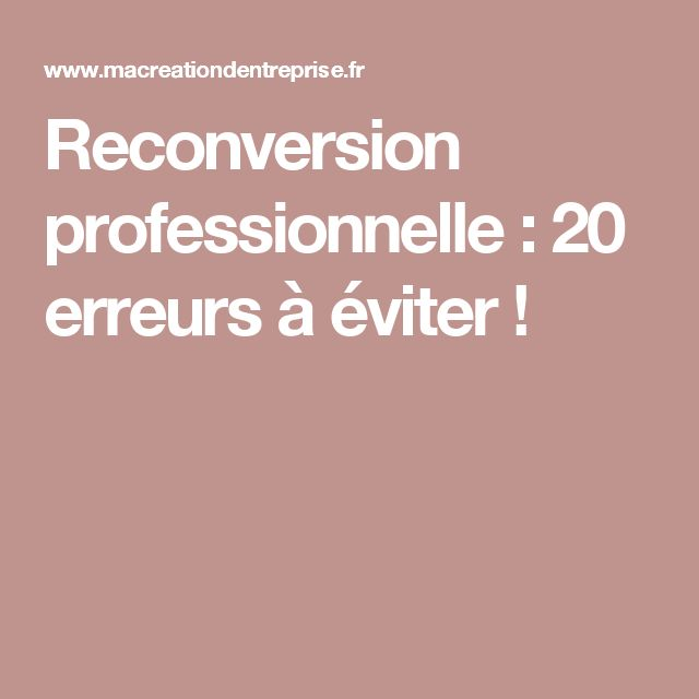 les 25 meilleures id es de la cat gorie reconversion professionnelle sur pinterest carri re. Black Bedroom Furniture Sets. Home Design Ideas