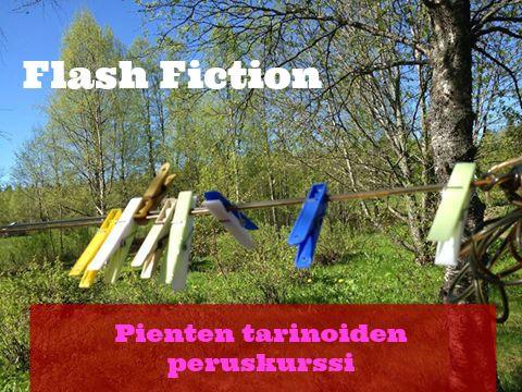 Flash Fiction - Pienten tarinoiden peruskurssi  #kirjoittaminen #verkkokurssi #kurssi #flashfiction #novelli #raapale
