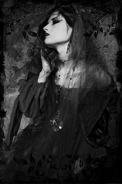 Image result for dark heart gothic beauty