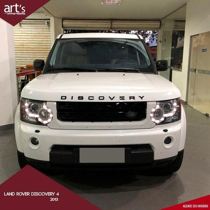 Serviços prestados: Land Rover Discovery 4  2013 remodelada para versão Black  Edition troca das lanternas traseira grade e frisos dianteiros  pintura das rodas grades lateral e maçanetas das portas.  E seu veículo está precisando de uma revisão geral?  Então agende uma revisão!  99920-1769 ou 62 3274-1769