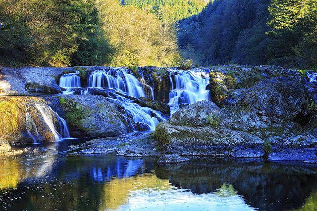 Dougan Falls... Near Camas, Washington on the Washougal River.