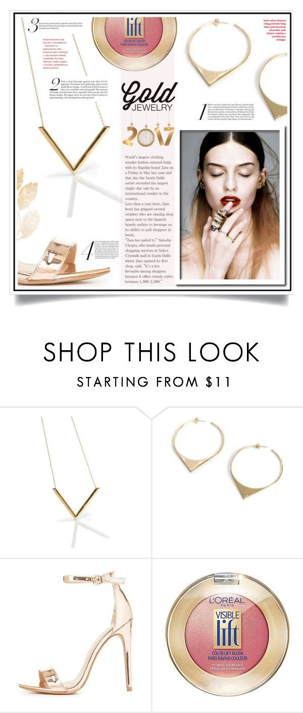 """WIN $50 COUPON TO SPEND AT JEWELSANDCHARLIE.COM.AU"" by ewa-naukowicz-wojcik ❤ liked on Polyvore featuring Maria Black, Charlotte Russe and L'Oréal Paris"