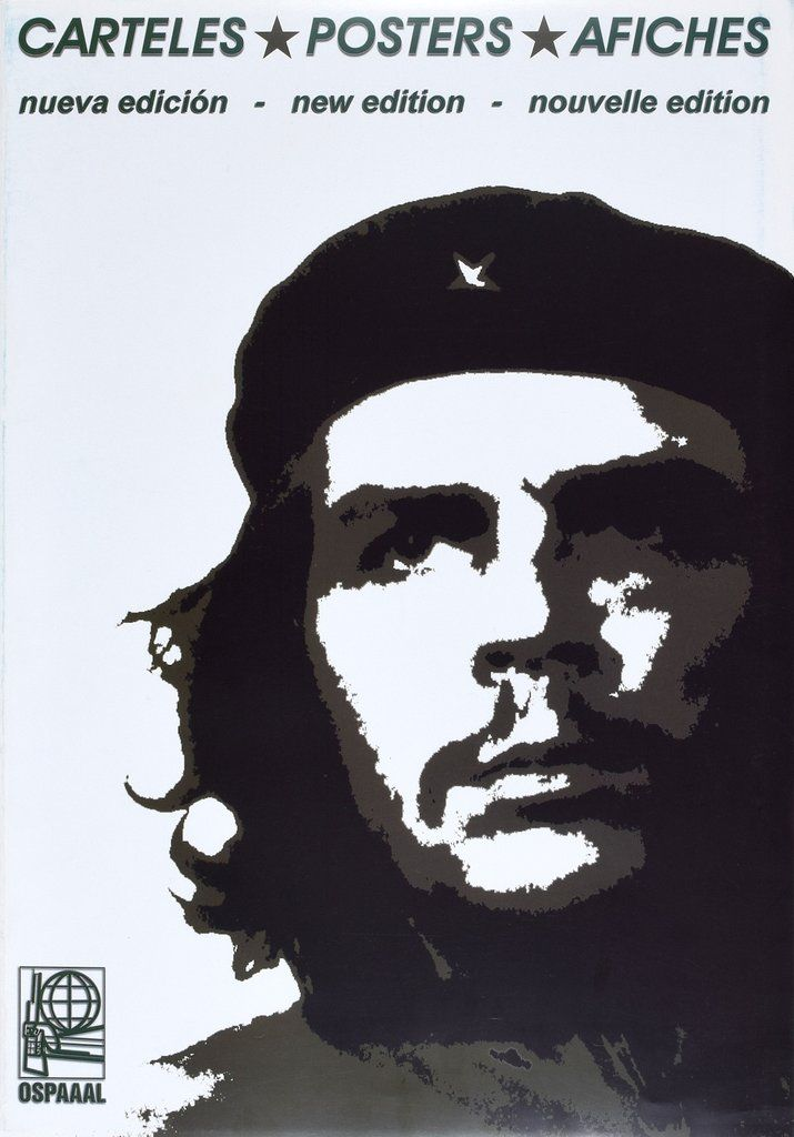 Che Guevara Poster Portfolio (10 posters) Cuban Posters OSPAAAL - bartheke f r k che