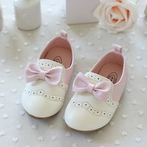 Toddler size 7 white dress shoes pink
