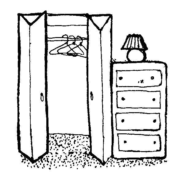 Closet Clipart Black And White Ppi Blog Inside Closet Clipart