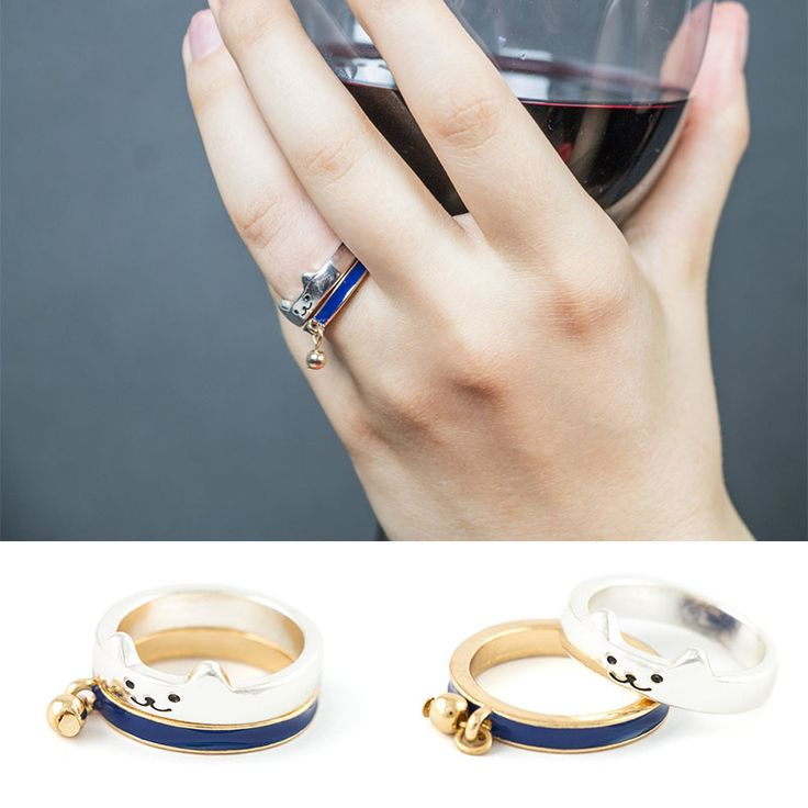 www.panikota.pl #paniKOTA #pierścionek #biżuteria #koty #oryginalnypierścionek