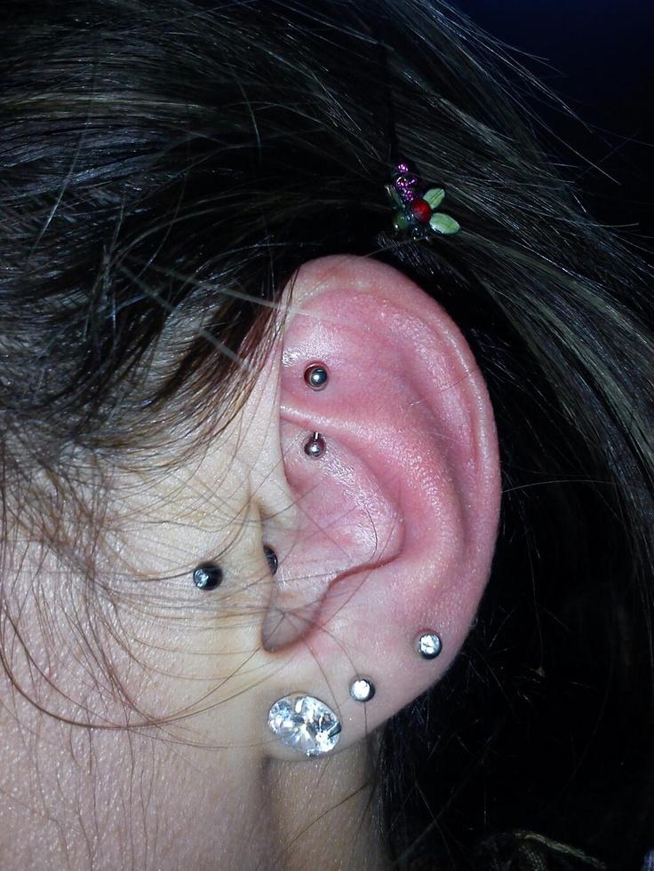 Best 25 Ear Piercings Tragus Ideas On Pinterest Tragus