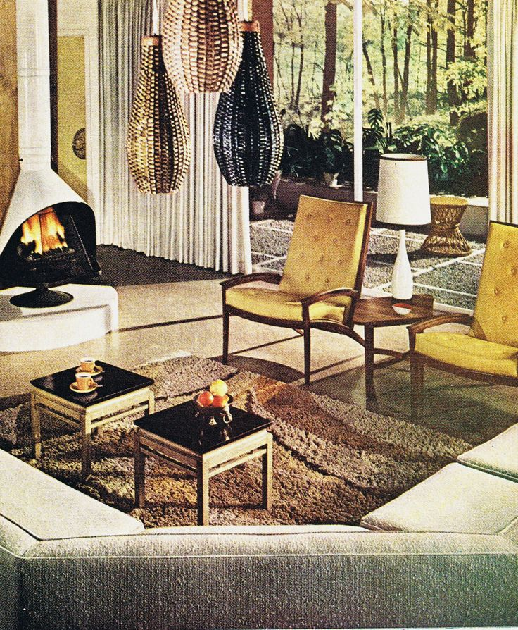 215 best decorating 1960s style images on pinterest for Garden design 1960s