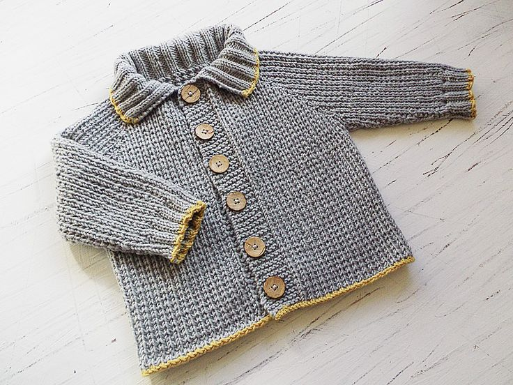Ravelry: Baby/toddlers seamless top down Fisherman's Rib Jacket P058 by OGE Knitwear Designs