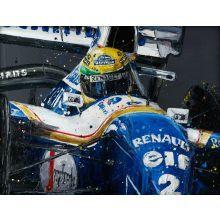 Senna Williams Paul Oz Framed print.