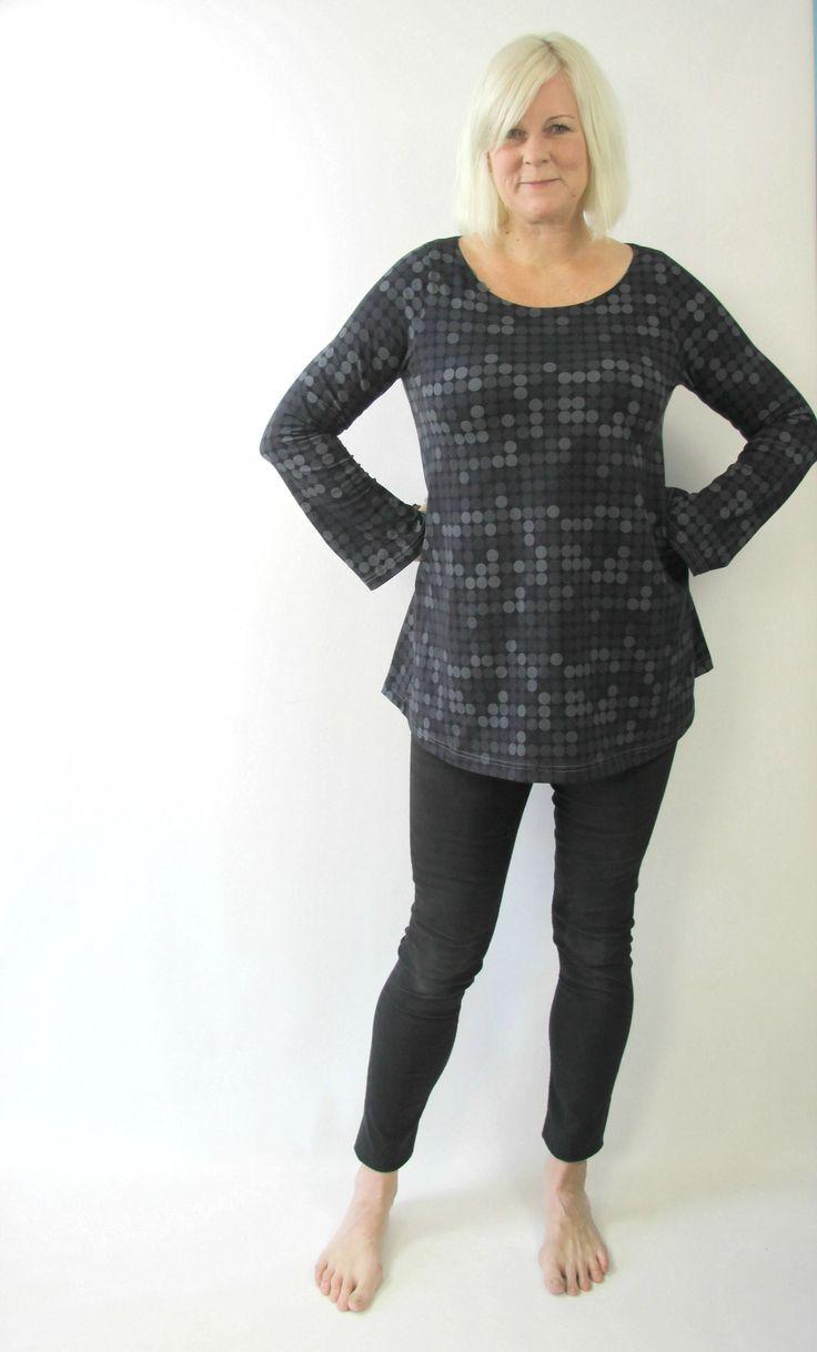 ebook delicia bubikragen naehen ausgestelltes kleid tunika