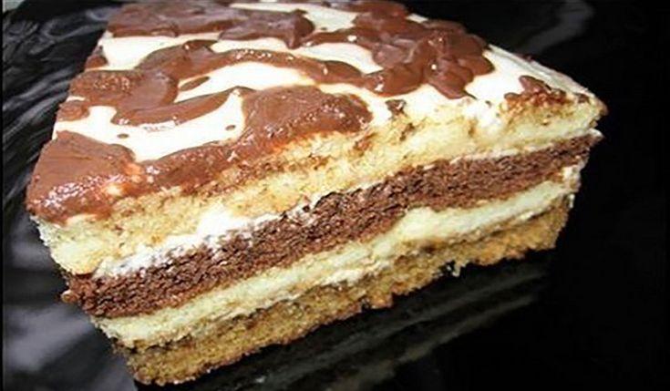 Acest tort este desertul ideal pentru sărbătorile de familie, deoarece îi adună pe toți în jurul mesei și oferăsatisfacție maximă, în special copiilor. Tortul este ușor de realizat, se prepară din 2 tipuri de blat, cremă de smântână și este acoperit cu glazură de ciocolată. Deși este un tort foarte simplu, acesta este extrem de …