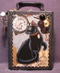 Decorated Cigar Boxes | The After Halloween Altered Cigar Box Swap - Swap-bot