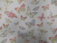 Prestigious Textiles Briarfield Butterfly Blossom 100% Cotton Curtain Fabric