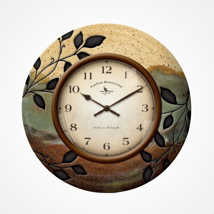 Firstime Ceramic Clock Kitchen ClocksCeramic DesignWall