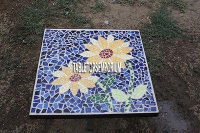 """36"""" мраморная сторона обеденный стол топ Лазурит камень цветочный инкрустацией с инкрустацией домашний декор"""