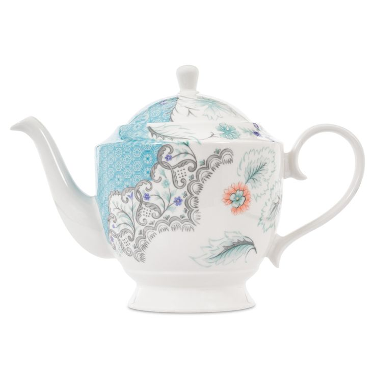 Buy the Lucy Fine Bone China Teapot online, part of the eclectic, globally-inspired tableware selection available to purchase from Whittard of Chelsea.