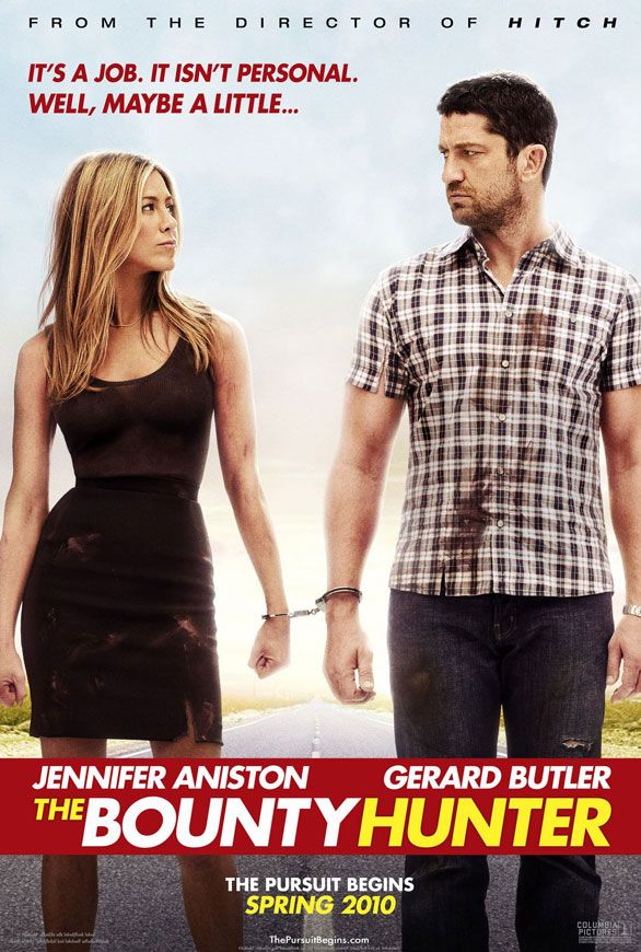 The camera work allows us to discover Jennifer Aniston's apt in The Bounty Hunter