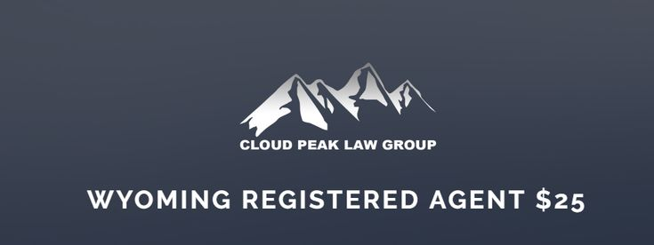 Legal Wyoming Registered Agent $25 - Discounts on Multiple