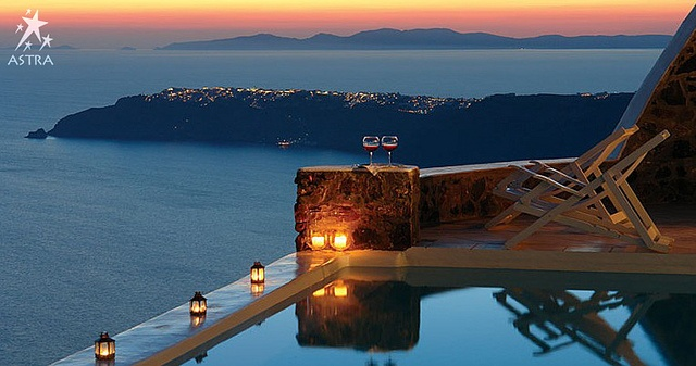 Romantic moments for you and your other half.. Pool-Astra Suites, Imerovigli, Santorini, Greece