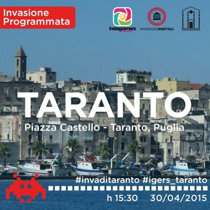Le Invasioni Digitali con Instagramers Taranto