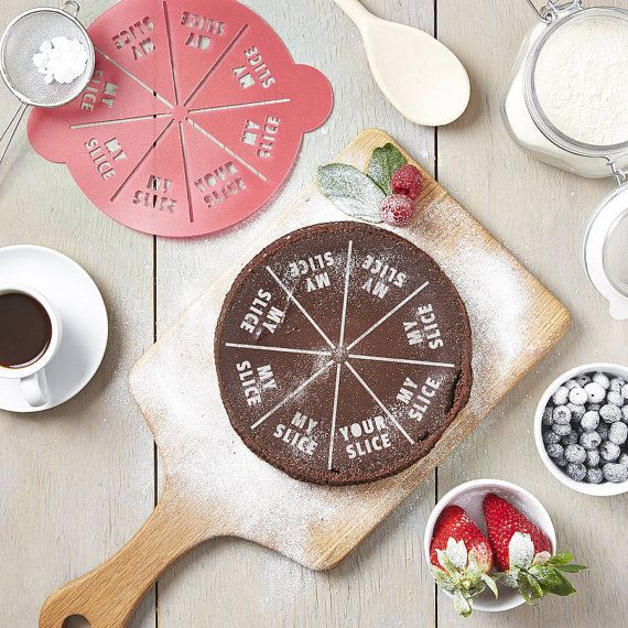 Personalised Your Slice My Slice Cake Stencil