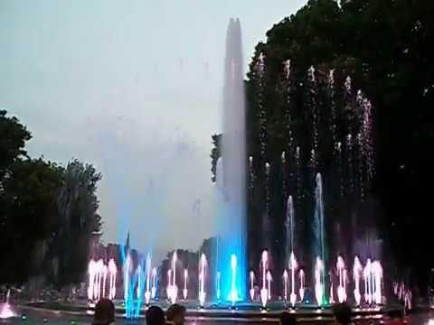 Light & water show