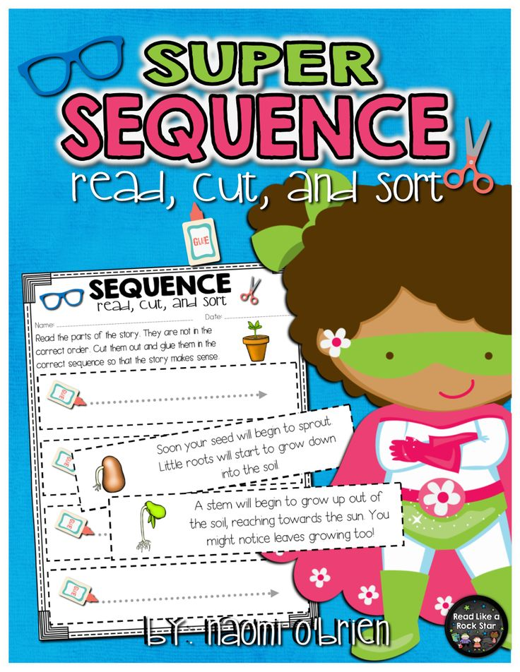 Sequence of Events          My students were really struggling with sequence of events. We focused on transition words, read and rere...