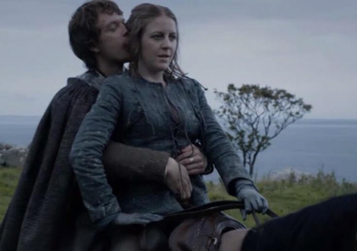 Theon Greyjoy & Yara Greyjoy.   Game of Thrones