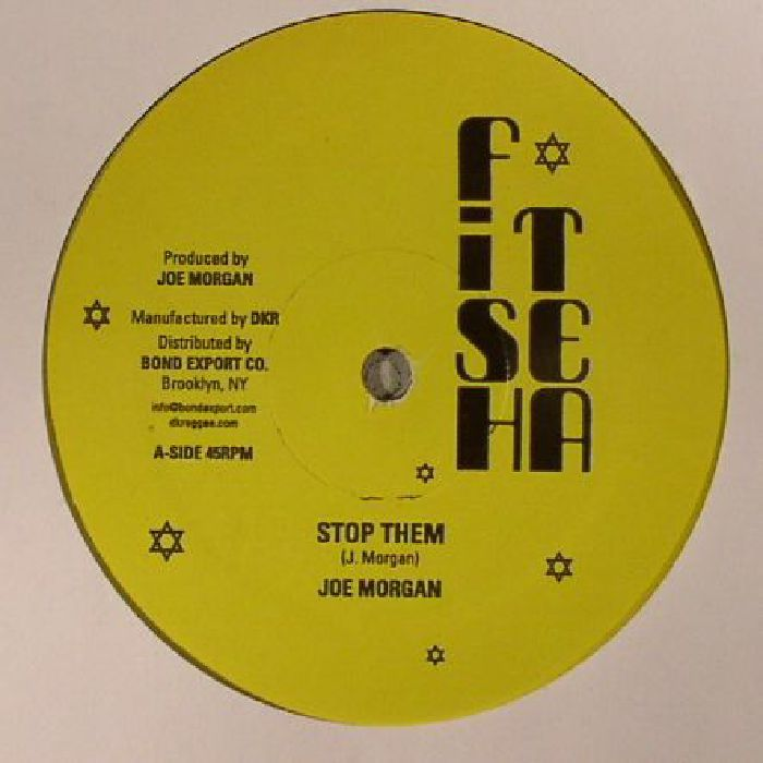 The artwork for the vinyl release of: Joe Morgan - Stop Them (Fish Tea) #music Dub