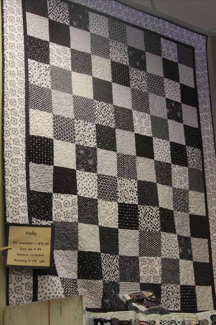 Best 25 Black And White Quilts Ideas On Pinterest Quilt