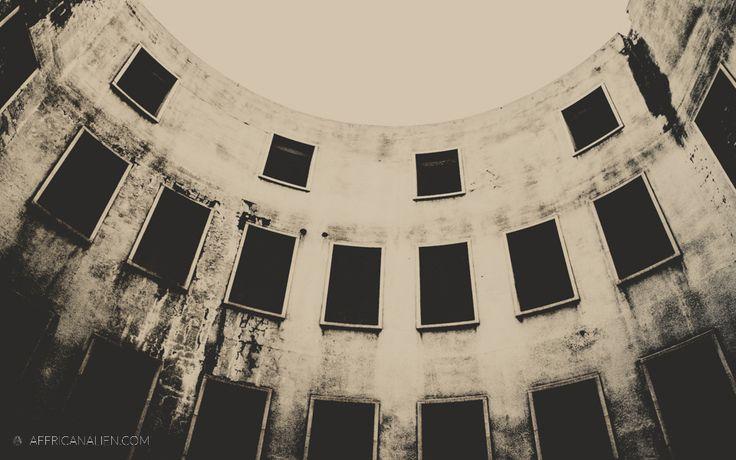 Abandoned building in Johannesburg.
