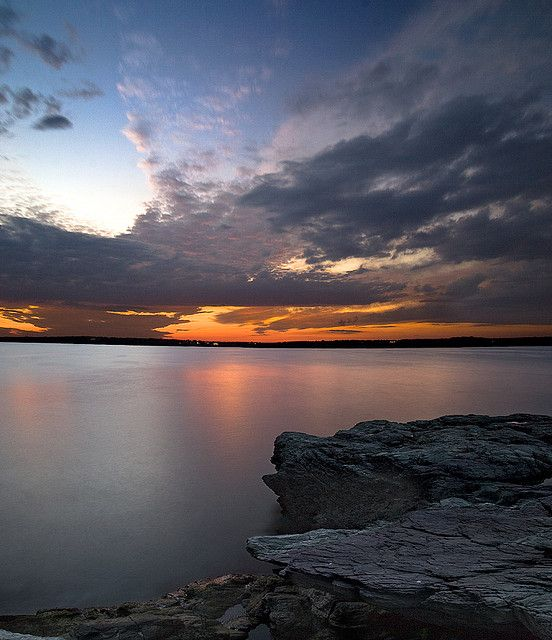Rhode Island Beaches: Sunset, Rhode Island #VisitRhodeIsland