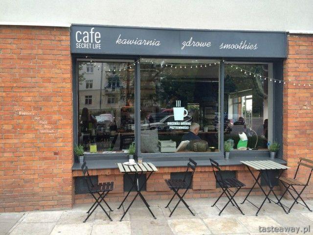 Secret Life Cafe, Żoliborz, kawiarnia, śniadanie