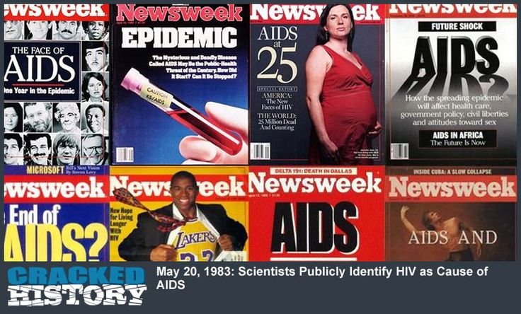 May 20, 1983: Scientists Publicly Identify HIV as Cause of AIDS - http://www.crackedhistory.com/may-20-1983-scientists-publicly-identify-hiv-cause-aids/